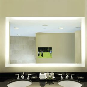 Electric Mirror Silhouette SIL4836 Bathroom Fixtures Lighted