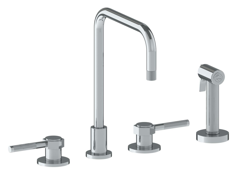 Watermark 111-7.1-SP4 Kitchen Fixtures 4-Hole Kitchen Faucet