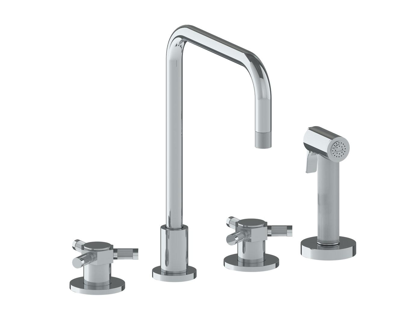 Watermark 111-7.1-SP5 Kitchen Fixtures 4-Hole Kitchen Faucet